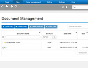 Documents Management with multiple files upload capabilities