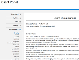 How to Use Client Portal